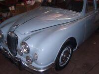 JAGUAR MK1 1950s PARTS 2.4cc & 3.4cc complete cars breaking