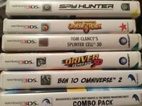 6 Nintendo 3DS Games