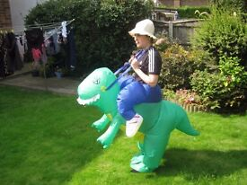 11 Inflatable dinosaur fancy dress costumes - adult size