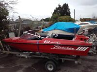 Fletcher gto speed boat