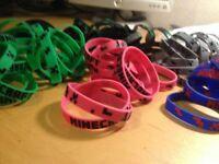 Minecraft wristband joblot
