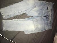 Size 10 Levi Jeans