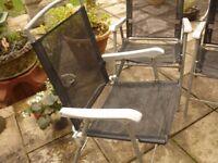 3 Garden /patio chairs