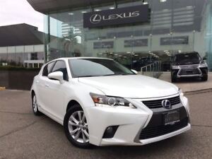 2014 Lexus CT 200h 1 Owner Bluetooth Leather Heated Seats