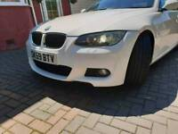 Bmw 320d m sport convertible tiptronic black leathers