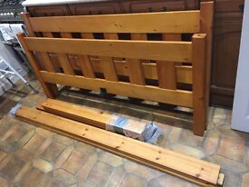 4 POSTER DOUBLE BED FRAME