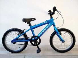 "(3090) 16"" Lightweight Aluminium RIDGEBACK MX16 MOUNTAIN Kids Bike Bicycle; Age: 5-6, 105-120 cm"