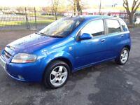 Chevrolet Kalos 1.4 SX 5dr 2005 12 month mot