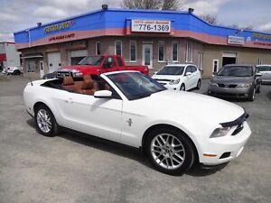 2012 Ford Mustang Premium V6 ECONOMIQUE DECAPOTABLE AUTOMATIQUE