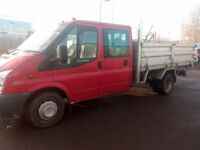 1 owner crew cab tipper!!! Full size body