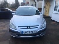 Peugeot 307 1.6 (02 Plate) Automatic