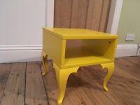 Ikea Trollsta Yellow bedside table