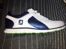 Footjoy pro sl - size 11 - mint condition - rare blue colour