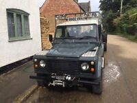 Land Rover Defender Galvanised Chassis