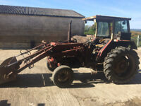 International 454 loader tractor