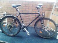 Vintage Lotus Of America Mens City Commuter Bicycle 21 Speed Black