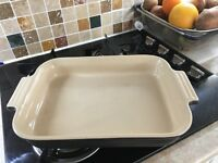 Large lecreuset oven to table dish