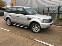 2007 Land Rover Range Rover Sport L320 2.7 TD V6 S Diesel Automatic New Engine Fitted 4 Wheel Drive