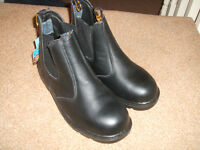 work boots steel toe,unused with tags size 8 £10 bargain ,no offers