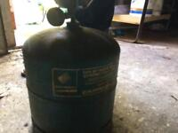 Camping Gas bottle and hob £5