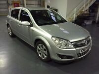 2007 (57) VAUXHALL ASTRA BREEZE 1.6 SILVER 5DR PETROL, CLIMATE CONTROL, CRUISE CONTROL, MOT 10/2017
