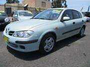 2001 NISSAN PULSAR ST 5D HATCH, LOW KMS, AIR, REGO, JUST SERVICED Penrith Penrith Area Preview