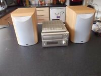 Denon UD-M50 cd auto changer reciever + denon speakers.