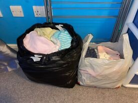 Large bundle of girls 6-9 month clothing