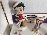 4 wade ltd edition Betty boop ornaments