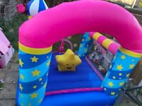BOUNCY CASTLE, POPCORN AND CANDY FLOSS MACHINE ALL AVAILABLE FOR HIRE