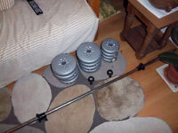 York basic fitness weights set