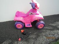 MINNIE MOUSE CLUBHOUSE MOTORISED QUAD