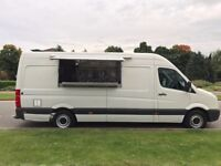 VW Crafter: Catering Van with Newly-Fitted Engine Parts & New Cooking Equipment