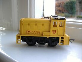 triang r253 dock shunter loco
