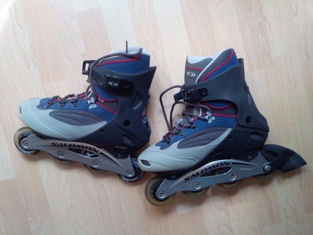 Roller skates kingston - Salomon Inline Skates Roller Blades Men Size 10