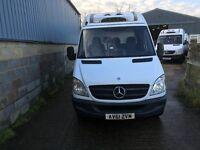 mercedes sprinter 313 fridge van.61 reg.one owner.excellent runner.ready for work