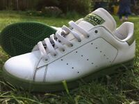 Adidas Stan Smith shoes - men's - only worn once. £10. Size 8 / 8.5