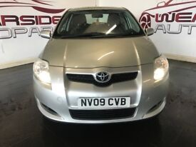 TOYOTA AURIS 1.4 Limited Edition 5dr (silver) 2009