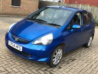 2004 HONDA JAZZ 1.4 I DSI SE 5 DOOR HATCHBACK AUTOMATIC PETROL 5 SEAT BLUE CHEAP INSURANCE N MICRA