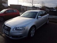 AUDI A6 DIESEL SALOON 2.0 TDI DPF S Line 4dr Multitronic Silver - IMMACULATE CONDITION