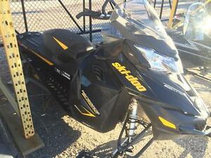 2014 Ski-Doo Renegade® Backcountry™ X® Rotax E-TEC 800R - Black