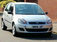 2008 FORD FIESTA STYLE CLIMATE 1.2 GENUINE LOW MILEAGE LONG MOT 3 MONTHS WARRANTY