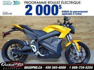 2016 Zero Motorcycles Zero S ZF13.0  59,10$/SEMAINE