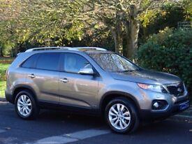 2010 (60) KIA Sorento 2.2 CRDi KX-3 4WD 5dr (7 Seats) - FULL HEATED LEATHER - SUNROOF - BLUETOOTH