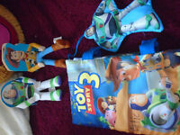 Toy Story Books - one soft like pillow/two sit on shelf