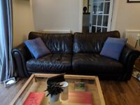 3-Seater Leather Sofa in great condition