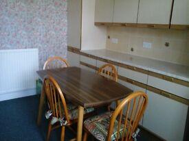 Fully furnished ground floor flat in Newton Heath/F'worth.