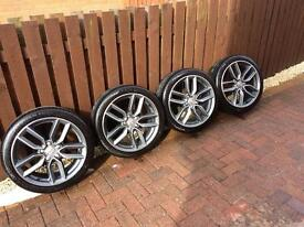 S3 2014 Diamond Cut 18inch Alloy Wheels