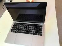 MACBOOK PRO 13.3 INCH TOUCH BAR 2.9GHz 8GB RAM 256GB SSD MINT CONDITION WITH CHARGER SILVER
