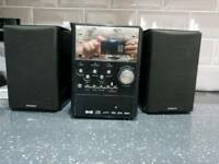 Hitachi CD player radio